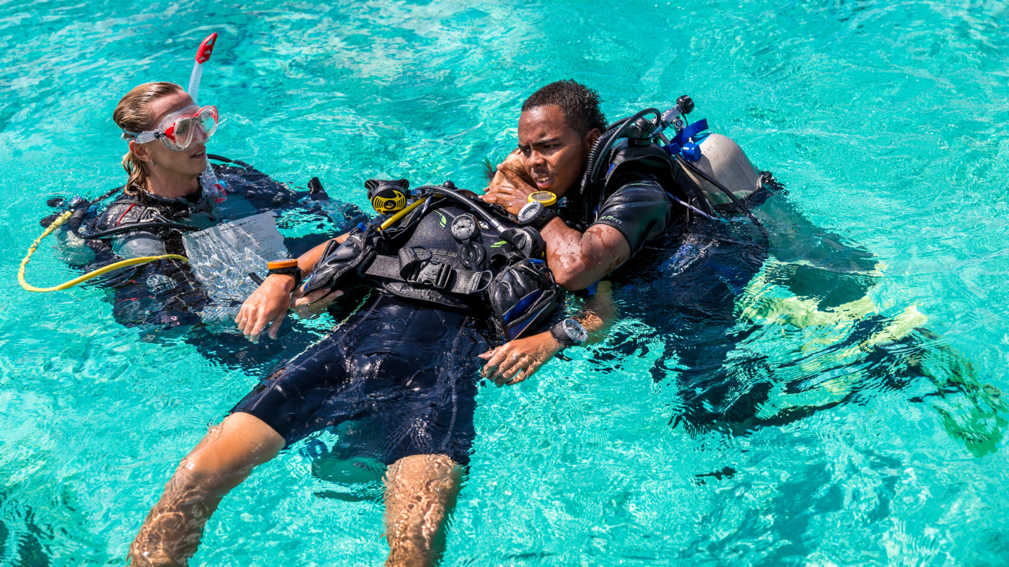 Gay scuba diving is found